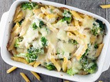 Pasta and broccoli bake