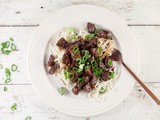 Stir-fried tamarind beef