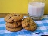 Chocolate Chunk Cookies (a.k.a milk sponges)