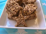 German Chocolate Cake Rice Krispy Treats