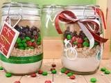 M&m Christmas Cookies in a Jar