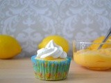 So me your Pucker Face!  Lemon Curd Filled Cupcakes with Lemon Buttercream