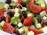 The Simple Greek Salad