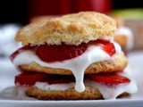 Spork-Fed : Strawberry Shortcakes with a Coconut Whipped Cream Topping