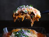 Sweet Potato and Kidney Bean Smothered Burritos
