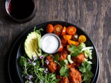 The Best Buffalo Cauliflower | Crispy + Spicy + Air Fried