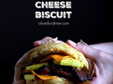 Vegan Bacon, Egg and Cheese Biscuit