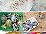 5 diy Decorative Easter Eggs + Funtastic Friday 170 Link Party