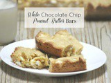 Christmas Cookie Swap – White Chocolate Chip Peanut Butter Bars