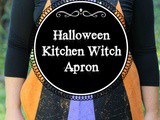 Diy Halloween Kitchen Witch Apron