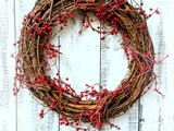 Diy Winter Berry Holiday Wreath