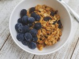 Healthy Home-Style Granola