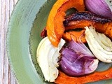 Roasted Red Kuri Squash with Fennel and Onion
