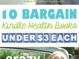 10 Kindle Health Books For Under $3 Each