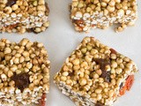"Apricot & Goji ""Rice"" Krispies Treats"