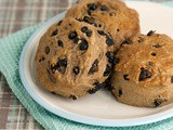 Chocolate, Raisin & Blueberry Scones
