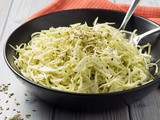 Low Carb Green Cabbage & Fennel Coleslaw