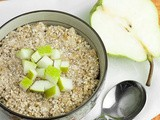 Raw Pear & Ginger Buckwheat Porridge