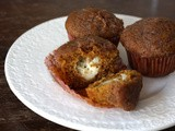 Cream cheese pumpkin muffins