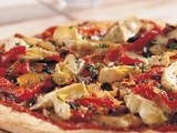 Cheeseless Pizza from 125 Best Vegan Recipes