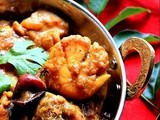 Chicken and Scallops Chettinad Masala