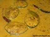 Fish in Roasted Mung Beans (Moong dal) gravy