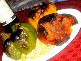 Grilled Stuffed Pepper - with Tuna and Rice