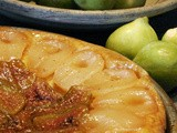 Pear and Fig Tart - Crostata di Fichi e Pere