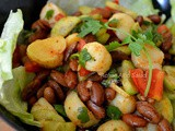 Achari Aloo Salad ( Indian Potato Salad)