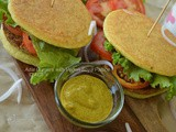 Adai Burgers with Vegan Soya Pattice ( Healthy Breakfast Recipe )