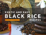 Black Rice On a Platter(share)
