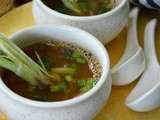 Horse Gram and Spring onion Soup ( Comforting Monsoon Broths Collaboration )