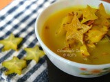 Karamanga Khatta ( Star Fruit Curry from Odisha )