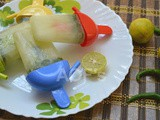 Lemon Chili Popsicles ( a Blast from the Past )
