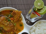 Masor Tenga (a simple Assamese Fish Curry)