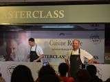 Masterclass with George Calombaris ( Courtesy - Cuisine Regale )