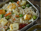 Paneer Tawa Pulao ( Lunchbox special )