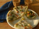 Steamed Veggie Appams ( Collan with Plattershare & FarmztoFamiliez )