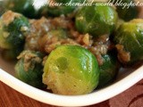 Garlicky Brussels Sprouts