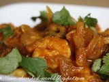 Simple Prawn / Shrimp curry