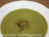 Zucchini / Courgette Garlic Soup