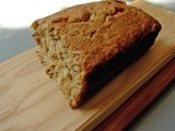Banana, lime & coconut bread
