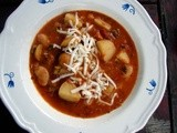 Leek, potato & butterbean stew