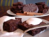Mexican hot chocolate brownies – chewy v. cake-y
