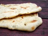 Parsnip and semolina flatbreads