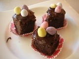 Chocolate and Almond Easter Cakes