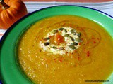 Pumpkin Soup with Cumin, Chili Flakes, Yoghurt; Balkabagi Corbasi