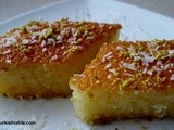 Revani; a deliciously moist – and a little lighter – Semolina Cake in Syrup & Turkish Chefs of the World