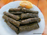 Turkish Mezze Night on May 30th, Stuffed Vine Leaves and More