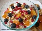 Yoghurt with Dried Apricots, Walnuts, Pomegranates Seeds and Honey & More Ideas for a Delicious Brunch – Turkish Style